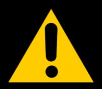 Alerta triangular amarelo com uma exclamação. Image by Clker-Free-Vector-Images from Pixabay