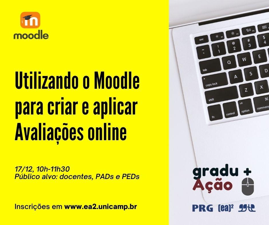 Usando o Moodle para criar e aplicar avaliações online