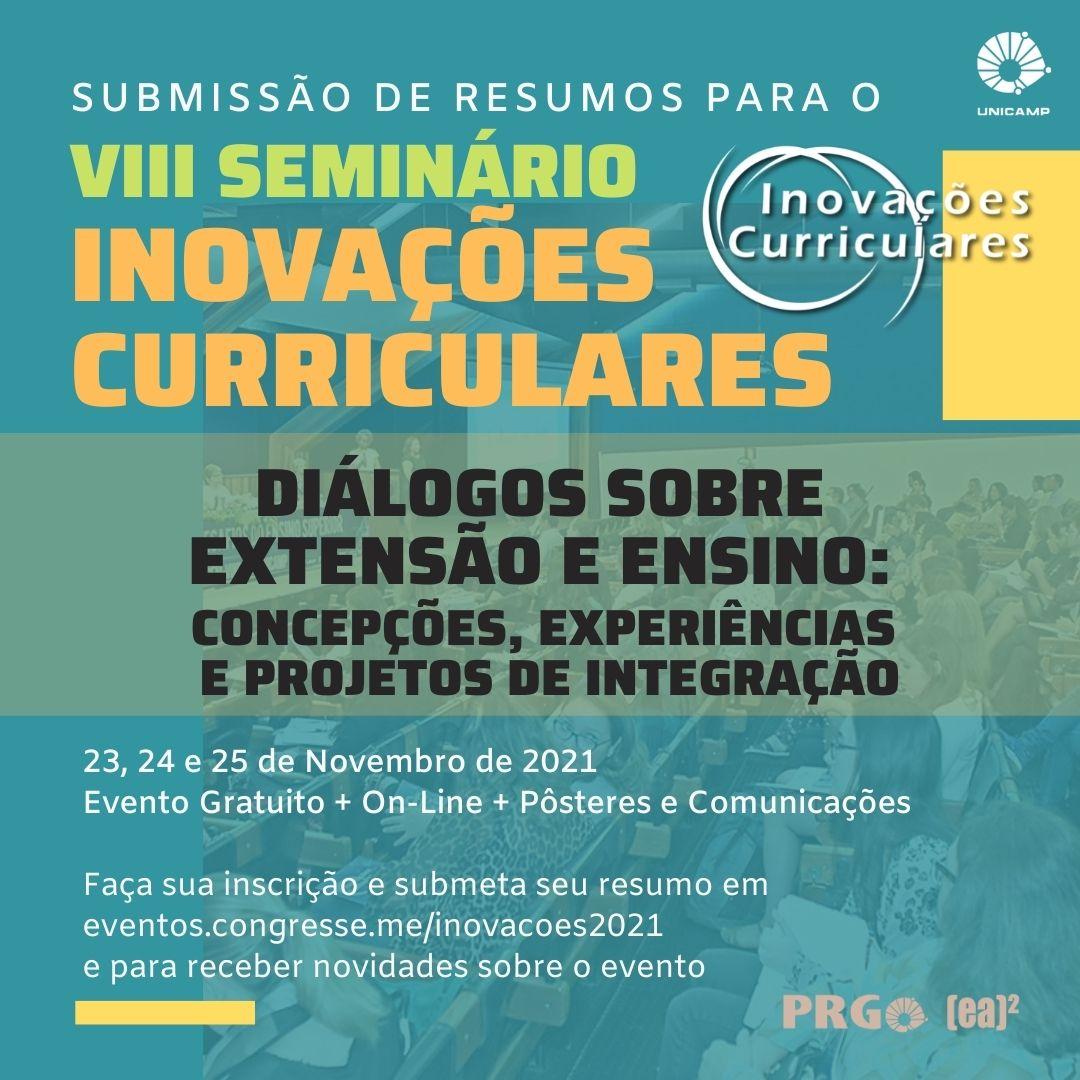 VIII Seminário Inovações Curriculares